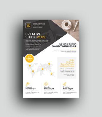 Tartarus Professional Corporate Flyer Template - Graphic Templates