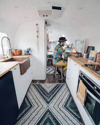 50+ Awesome Wood Interior Ideas for Sprinter Van Camper