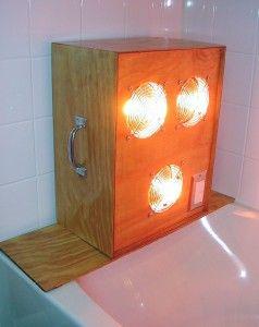My Homemade Near Infrared Sauna Dr Lawrence Wilson Htma