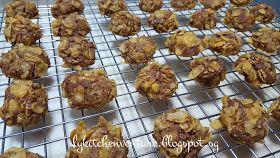 LY's Kitchen Ventures: Milo Cornflakes Cookies