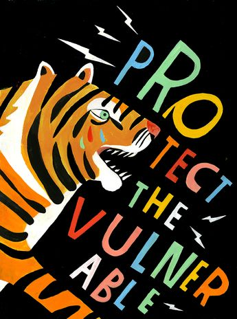 Protect the Vulnerable - Lisa Congdon Art