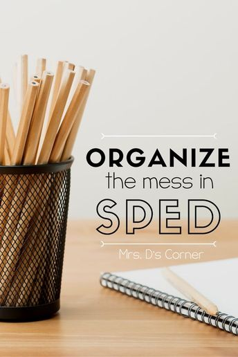 Staying Organized in SPED { Color Coded Classroom