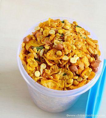 Cornflakes mixture