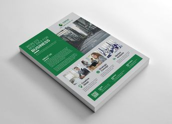 White Corporate Flyers Design 002705 - Template Catalog