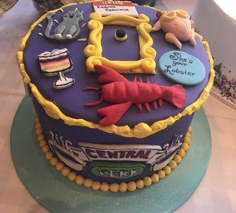 Friends Cake (another fronteras my Birthday )