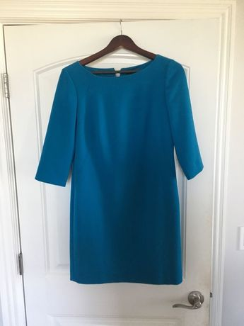 Tibi Green Bell Sleeve Off Shoulder Women S Size 12 Shift D