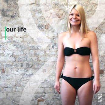 After 12 weeks, Christine's results are in! Check out her 12-week transformation. Download 8fit now and change your life too