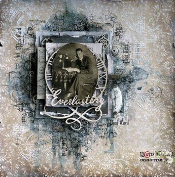 13arts: Everlasting - layout by Aida