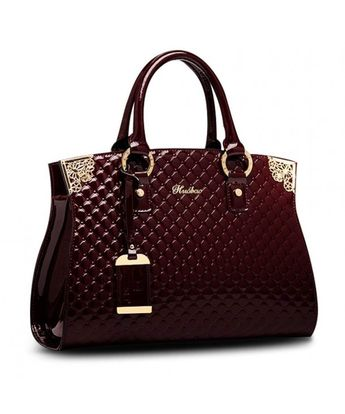 f5177cab6097 Handbags Designer Satchels Shoulder - Wine Red - CQ180NK6AKG