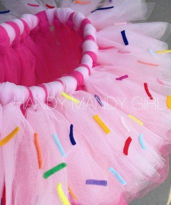 Cupcake tutu sweet tutu donut tutu skirt ombre tutu with
