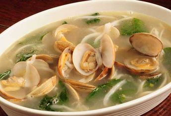 HALAAN SOUP WITH SPINACH OR MALUNGGAY