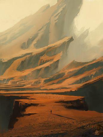 Wandering by JadrienC.deviantart.com on @deviantART #DesertLandscape