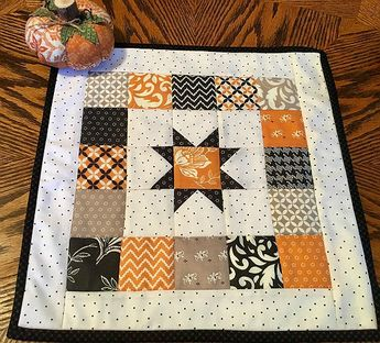Make a Charming Mini Quilt from Your Stash