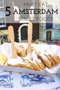 5 Street Foods in Amsterdam