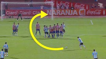 Lionel Messi ● Top 25 GENIUS Free Kick Goals Ever ● HD