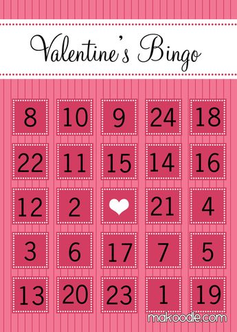 Bingo Cards Free printable, other holidays available