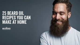 Beard Oil Recipe List You Can Make At Home (25 and Counting)
