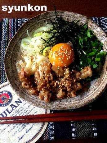 【簡単!!冷凍うどん】台湾混ぜそばっぽい見た目の肉混ぜうどん   山本ゆりオフィシャルブログ「含み笑いのカフェごはん『syunkon』」Powered by Ameba