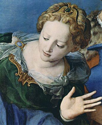 Bronzino - Deposition of Christ, detail (1540-45)
