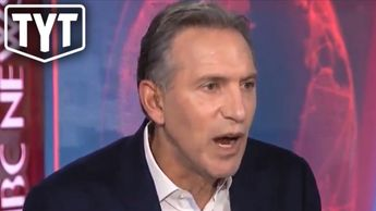 Howard Schultz Gets Smacked During Interview