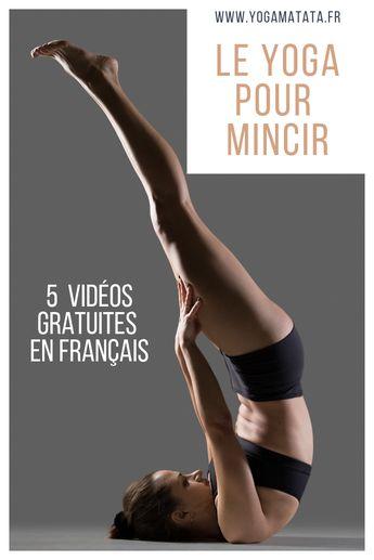Voici une sélection de vidéos de cours de yoga dédiés spécifiquement à la minceur. Installez-vous sur votre tapis de yoga, c'est partiii pour 5 vidéos de yoga pour maigrir ! #yoga et sport à la maison #minceur #sport #minceur