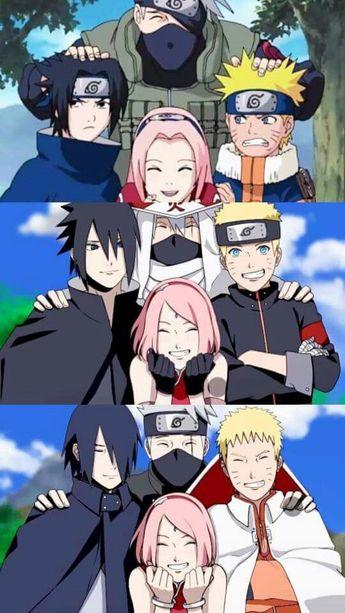 Eternal teacher and students.. - #Eternal #sakura #students #teacher Naruto