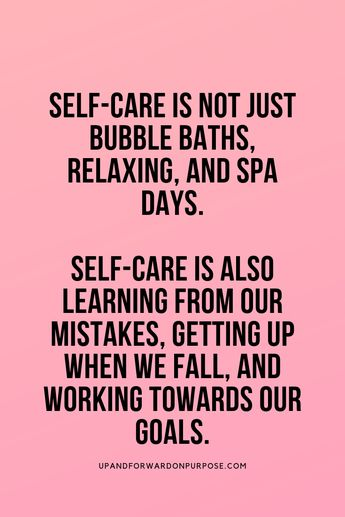 Self-Care Quote: Reach your Goals