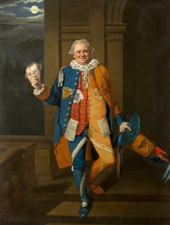 A Gentleman in Masquerade Costume Johann Zoffany (1733–1810) (formerly attributed to)  Theatre Royal, Bath