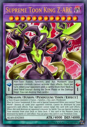 Supreme King Dragon Black Zarc