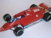 F1 Paper Model - 1979 Race of Champions Brabham BT48B Alfa Romeo Free Template…