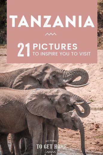 Through My Lens: Tanzania Postcards