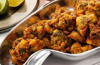 Beignets de légumes à l'indienne