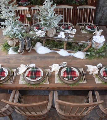 Christmas table decoration examples to set the scene for your festival feast - Page 30 of 39