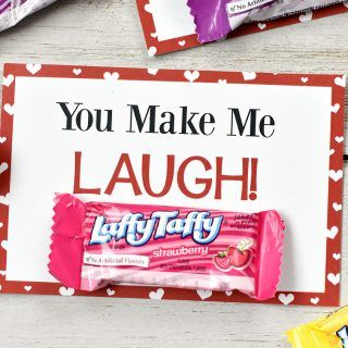 Laffy Taffy Free Printable Valentine Cards