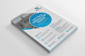 PSD Excellent Business Flyer Templates 002843 - Template Catalog