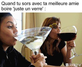 Quand tu sort avec ta #meilleure #amie boire juste un #verre !!! #blague #drôle #drole #humour #mdr #lol #vdm #rire #rigolo #rigolade #rigole #rigoler #blagues #humours