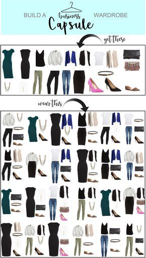 Capsule Wardrobe – Business – Just Posted