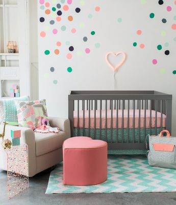 a mix & match nursery