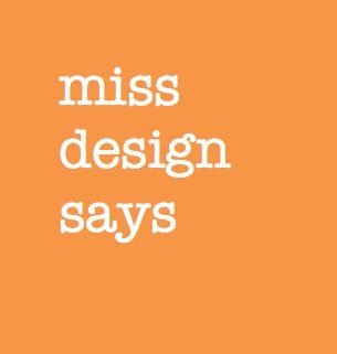 Logo with my favourite colour, orange, missdesignsays #Denmark #Danish #blog #design #architecture #interior #urbanspaces