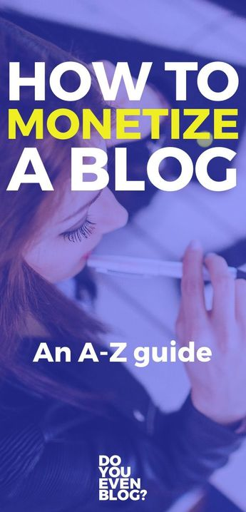 How to Monetize a Blog - An A-Z Guide for the Real World | HUGE resource for those who want to make money blogging | do you even blog | how to monetize your blog | #blogging #blog #money