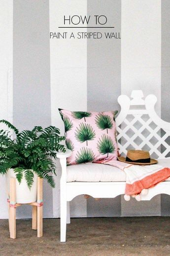 Read information on painting room 2018 Check the webpage for more. #paintingroomstripes