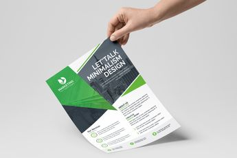 PSD Classy Business Flyer Templates - Graphic Templates