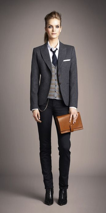 Menswear Inspired Suit Fashion
