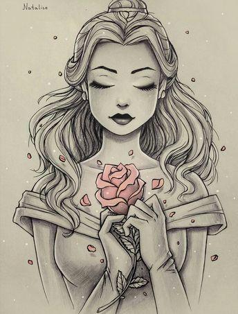 Dessin de Belle ❤️