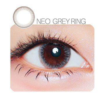 c7b12d80f6 Buy brand NEO Grey Ring Prescription 14.0mm 1 Pair (6 Month) Contact Lenses