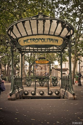 Parisian Metro Stop - one of the first things I saw in Paris. I was shocked to see that everything in Paris is made with art and beauty in mind (even the metro signs).