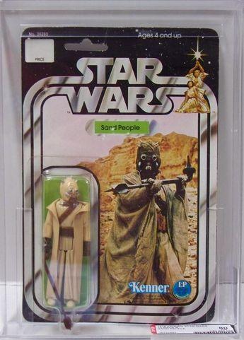 """""""Sand People"""", une de mes premières figurines star wars"""