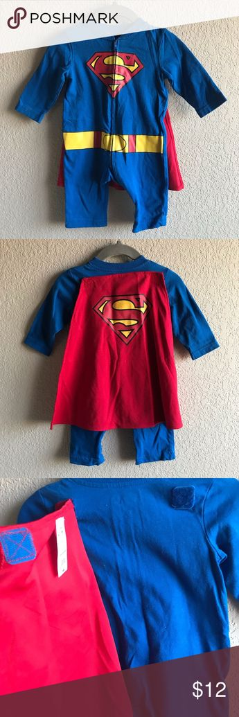 Superman baby costume Used once  superman baby costume. Size-0-6 months Has a detachable cape. DC Comics Costumes Halloween