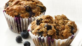 Blueberry-Oatmeal Muffins - Gold Medal Flour