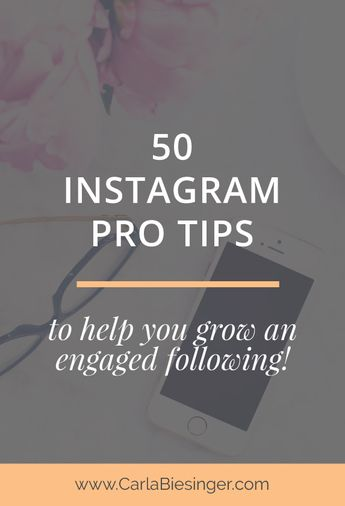 Instagram Tips - 50 pro tips from your favourite bloggers!